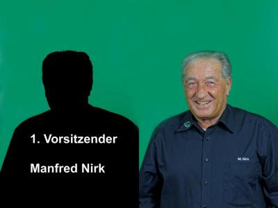 1. Vorstand Manfred Nirk